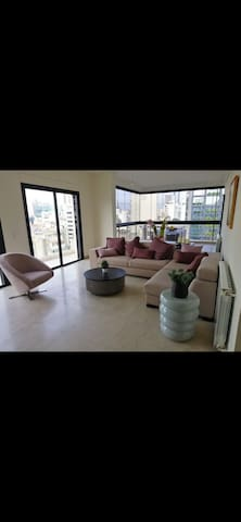 Duplex penthouse hamra