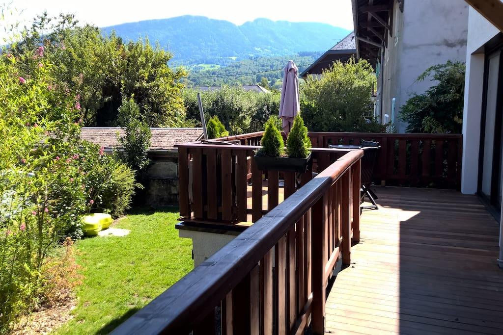 Balcon + Terrasse