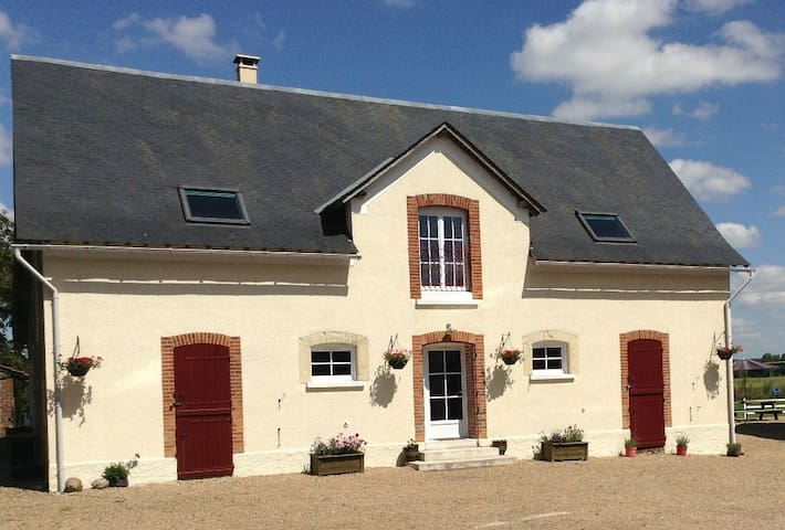 Beautiful rural gite in the vines - Lhomme - House