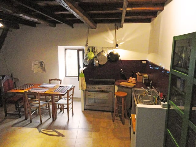 HOUSE with garden 40km from Rome - Artena - Hus