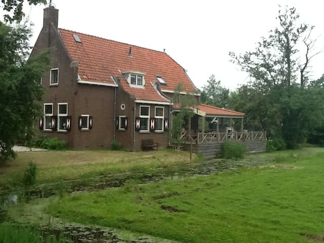 Idyllic, monumental detached house - Hazerswoude-Rijndijk - Casa