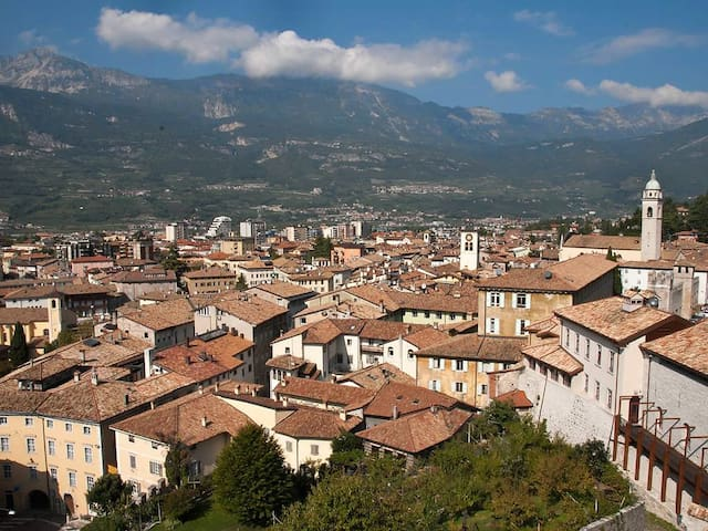 Grande vista sui tetti di Rovereto - Rovereto