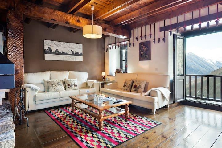 Apartamento VISTA BAGERGUE /BAQUEIRA BERET  (WIFI) - Bagergue - Kondominium