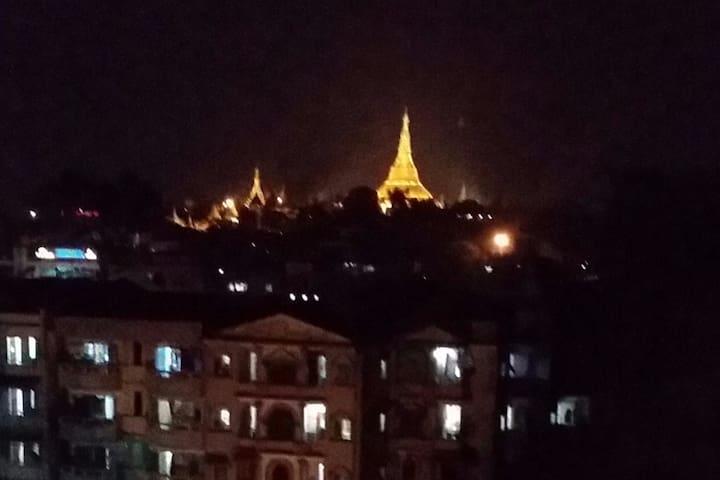 Shwedagon View Penthouse - Yangon - Apartment