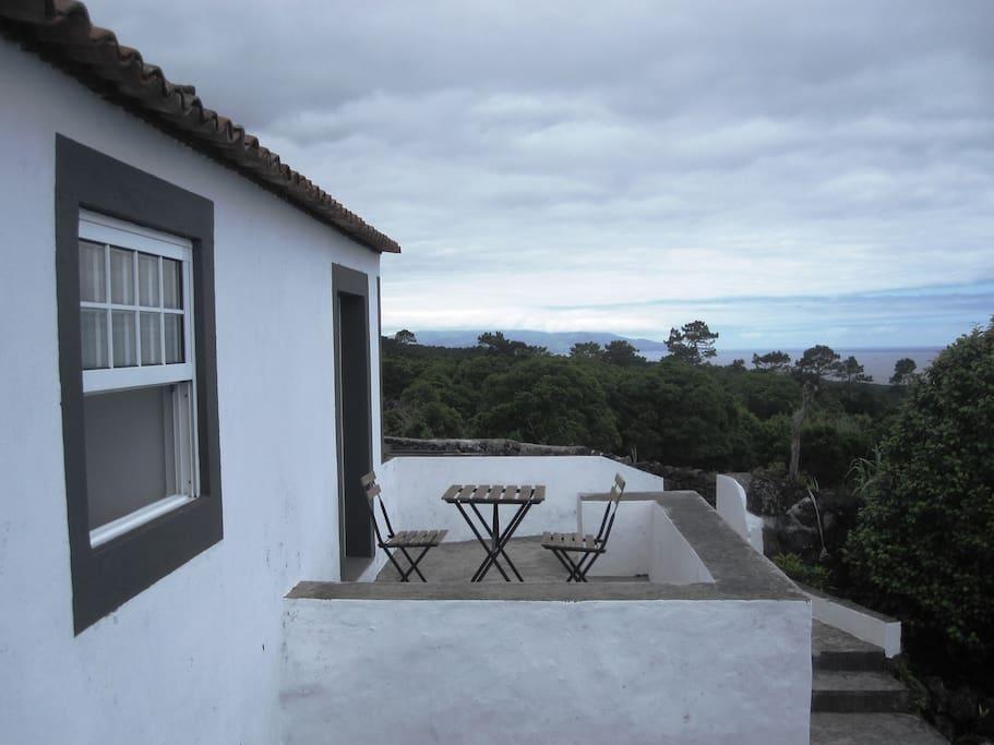 terraço do quarto