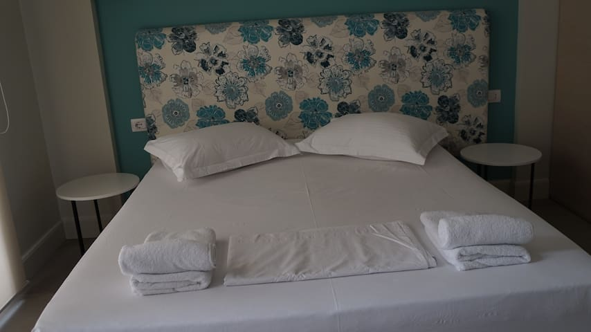 """luxury modern room at """"Drimades Blue Rooms"""""""
