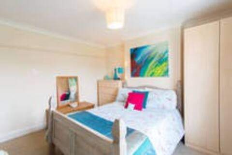 The third of 3 beautiful double bedrooms