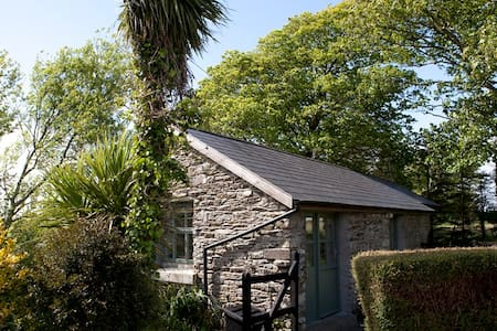 A charming and stylish studio cottage, recently renovated from old stables, the cottage sits on a lovely one-acre organic vegetable and flower garden 10 mins equally from Clonakilty and a variety of local beaches.