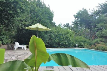 B&B avec piscine, à 2 pas de Grenoble - Saint-Martin-le-Vinoux - Bed & Breakfast
