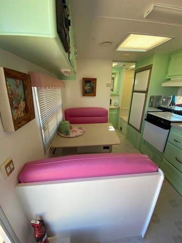 Pink Flamingo at Rock n Roll Ranch