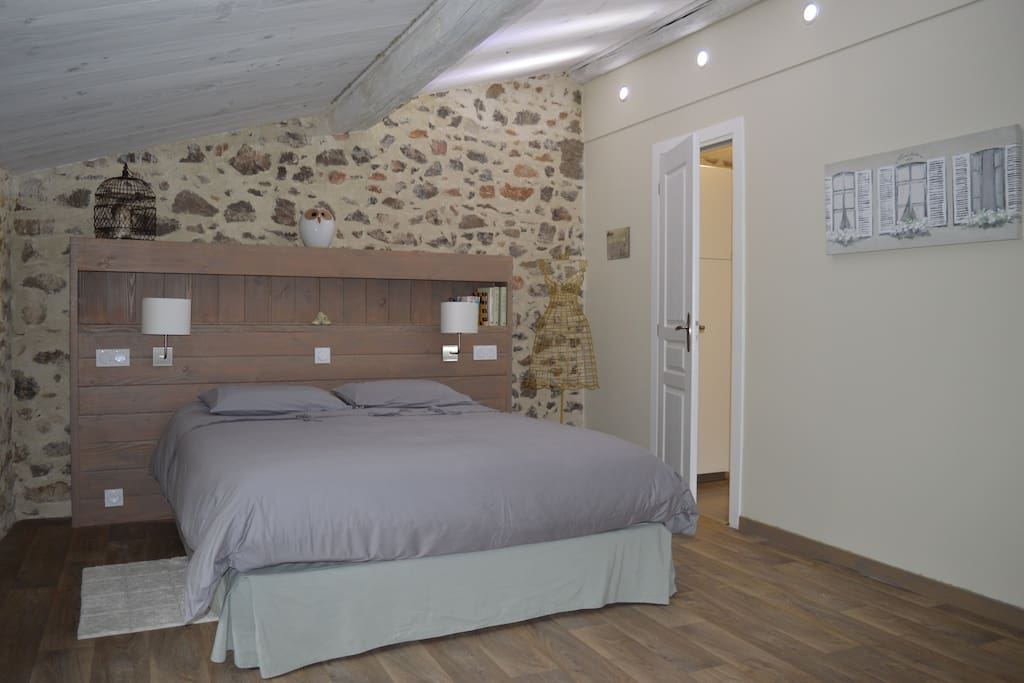 Chambre d 39 h tes b b bed breakfast zur miete in thoiras for Chambre d hotes languedoc