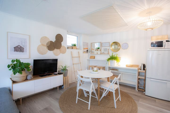 One bedroom apartment Boem*** with a terrace