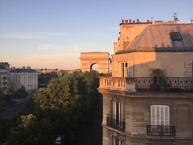 Big Appartement l'Arc de Triomphe - Paris - Wohnung
