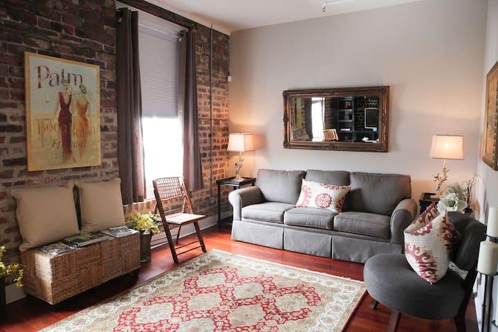 Historic District Loft Apartment