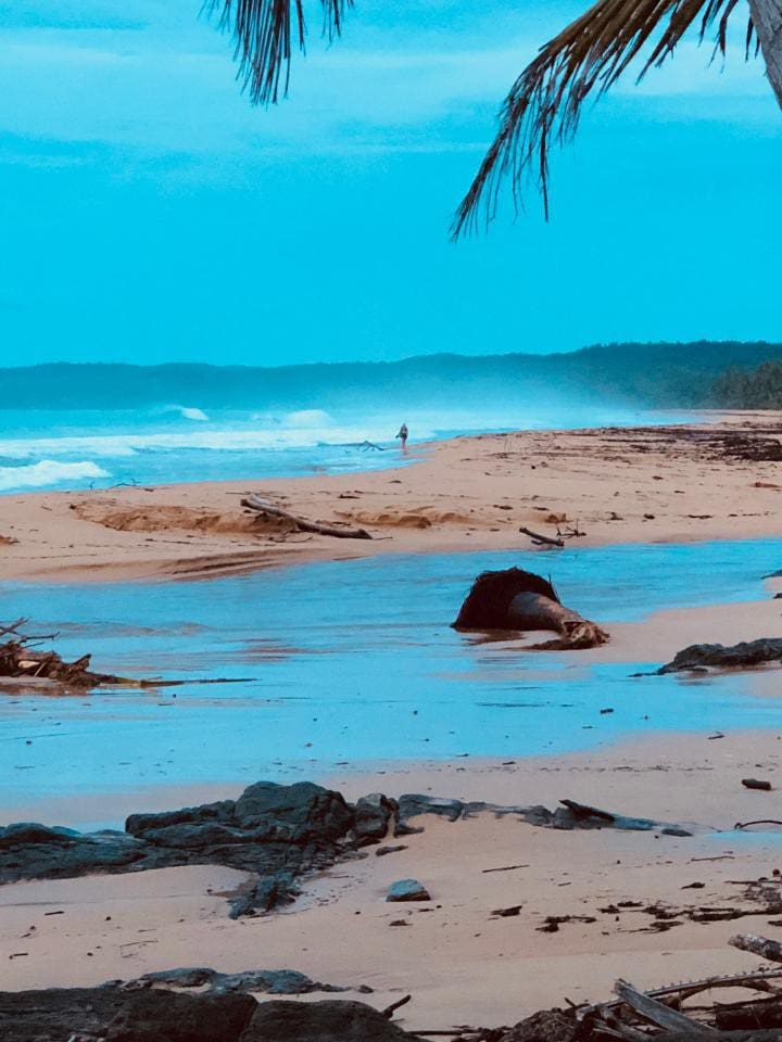 Our condo is on Luquillo beach; and is ready for your next vacation. Enjoy spectacular views of our 50 shades of blue Caribbean ocean.