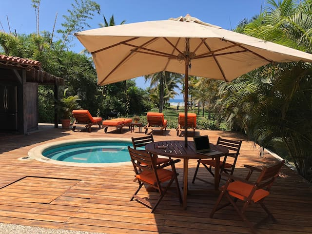 Spectacular Beachfront Property 2 houses in Olon