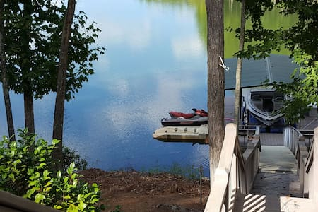 Peaceful Nottely Lake Private Suite - Blairsville - Haus