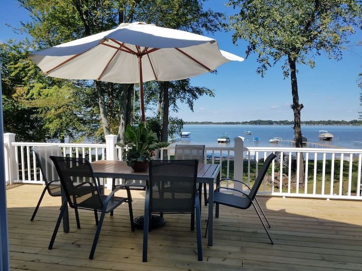 New Lakefront Vacation Home-Bass Lake