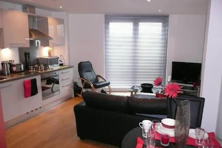 Stylish, Modern Apartment in Leeds City Centre - Leeds - Apartemen