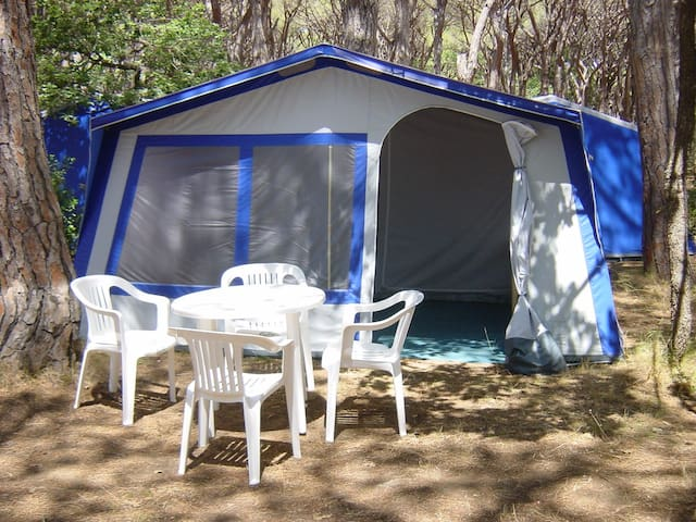 Unterkunft nähe Venedig - Rosolina Mare - Tent