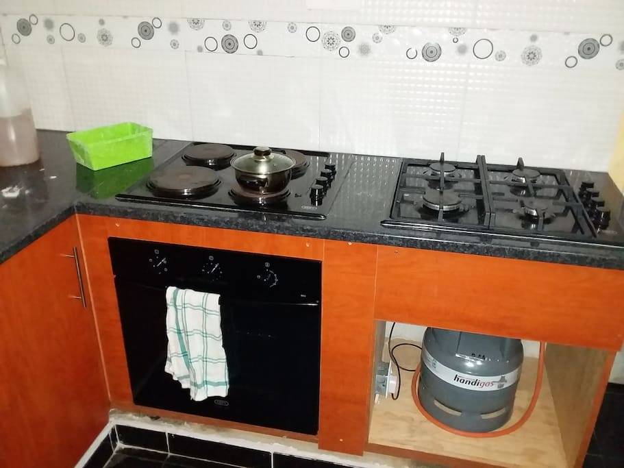 Kitchen- Electrical & Gas stoves