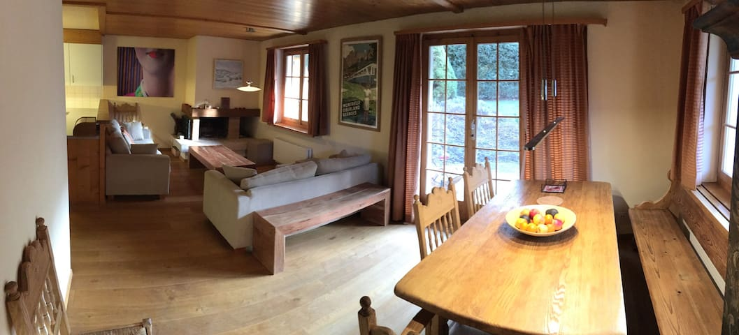 Luxury Chalet with 6 Bedrooms - 薩嫩(Saanen) - 牧人小屋