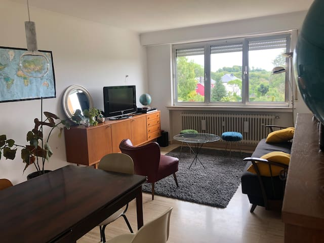 Cosy and bright apartment Luxembourg City-Howald