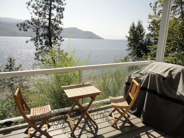 Lake View Peachland Private Suite  - Peachland - Appartement
