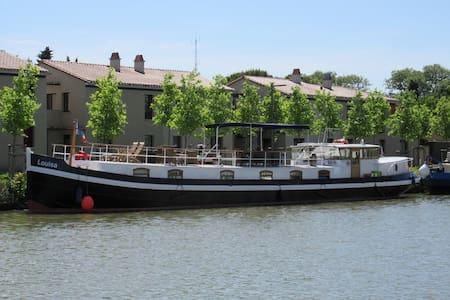 Luxury Hotel Barge on Canal du Midi - Castelnaudary