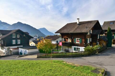 Ferienwohnung im Chalet mit wunderschöner Aussicht