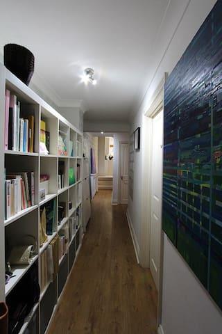 A room with garden in artist home in London Fields