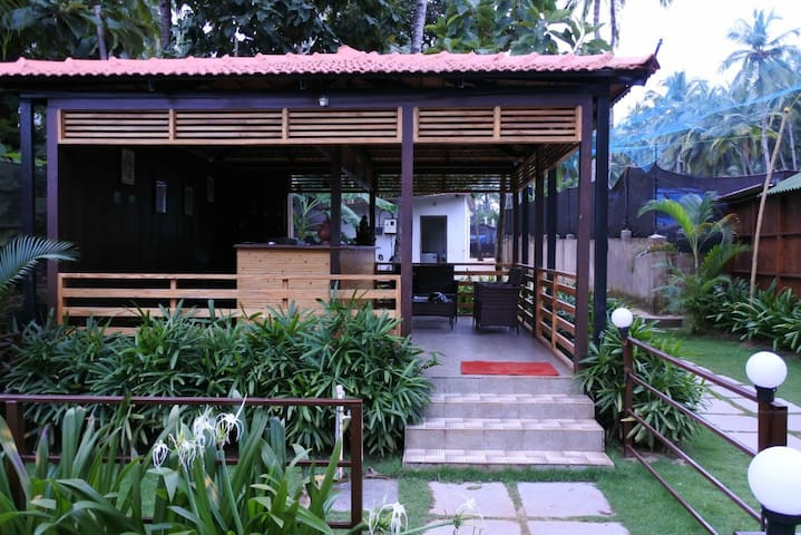 Club House at Palolem Beach 1