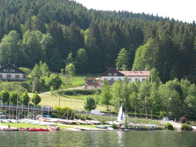 Holiday home overviewing the lake in Gérardmer - Gérardmer - Casa