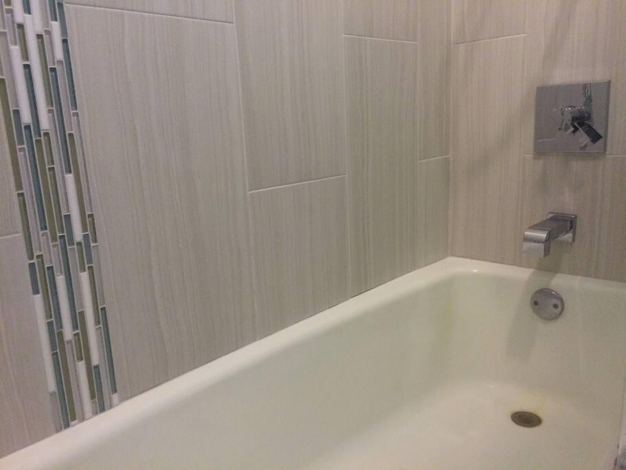 bathtub of bathroom