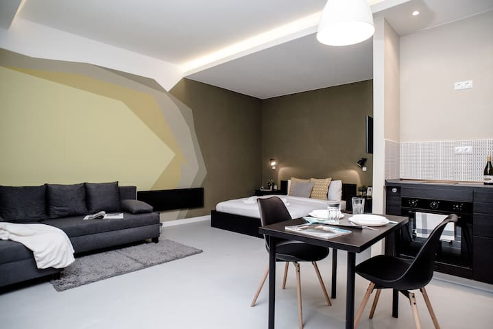 Cute, new and stylish apartment in the center