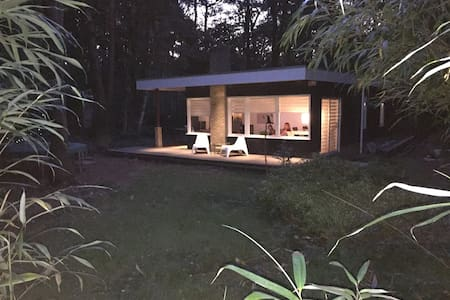 Comfortabele moderne bungalow midden in de natuur - Norg - Domek parterowy