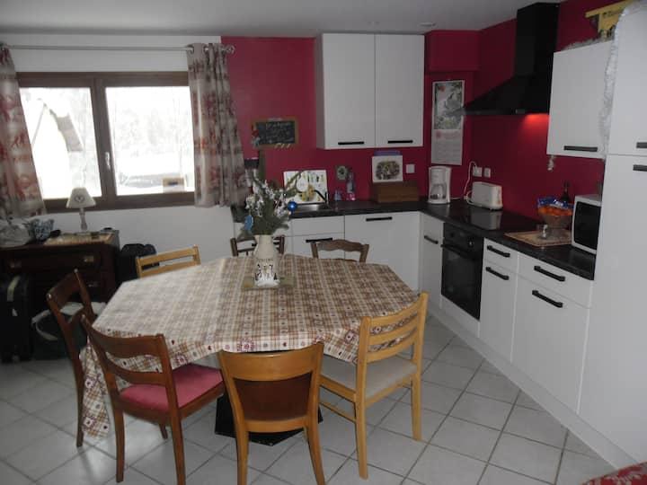 Tres bel appartement à louer à Lelex dans le Jura