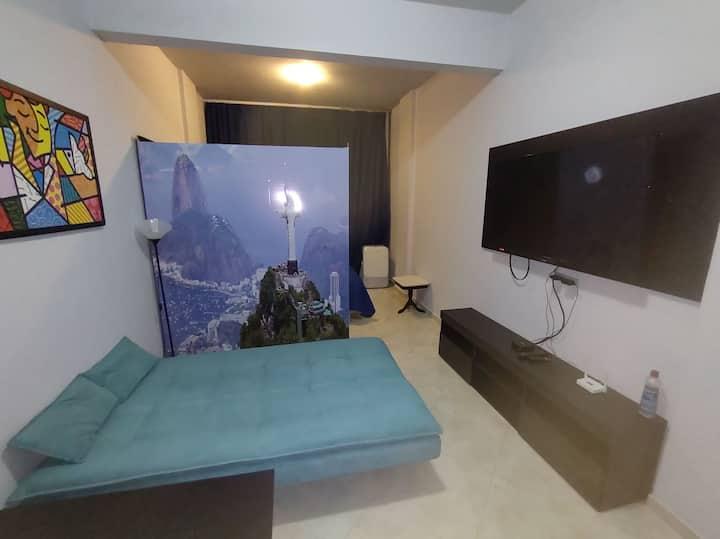 Apartamento aconchegante e seguro no Centro do Rio