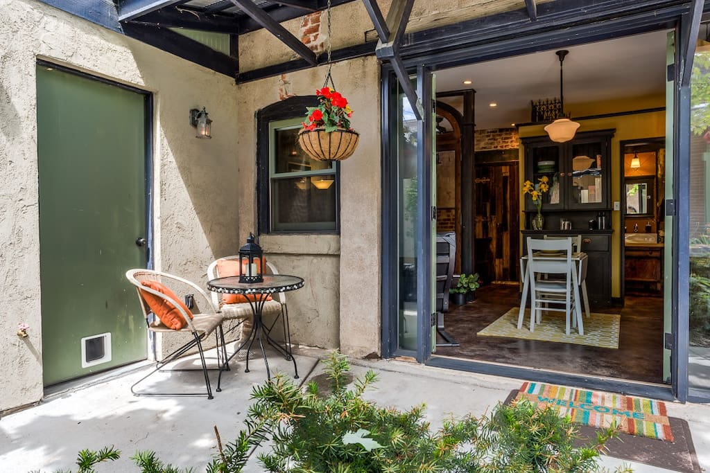 Great indoor and outdoor space - you can open it up and enjoy the great weather in Denver.