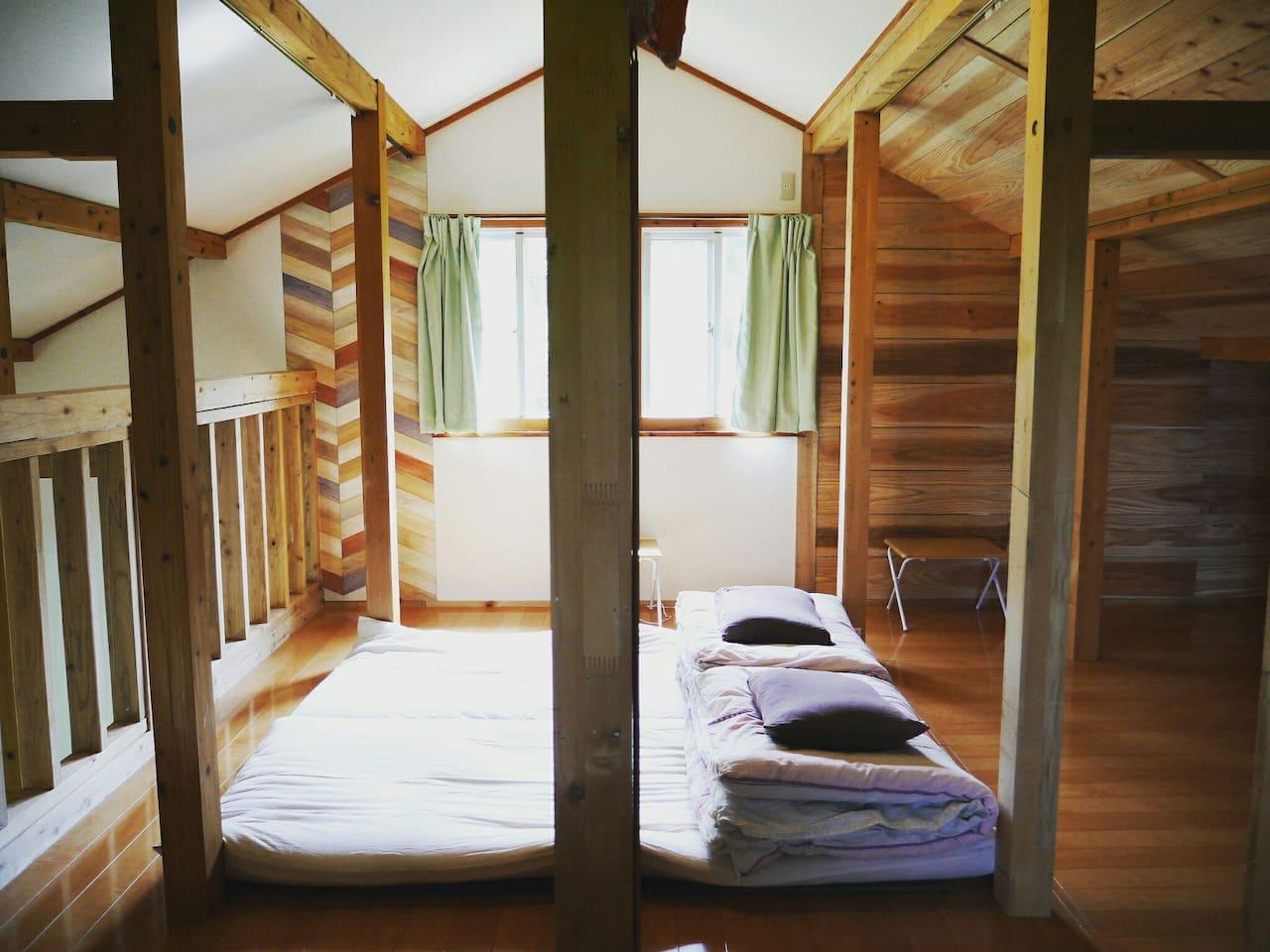 bedroom (loftroom )