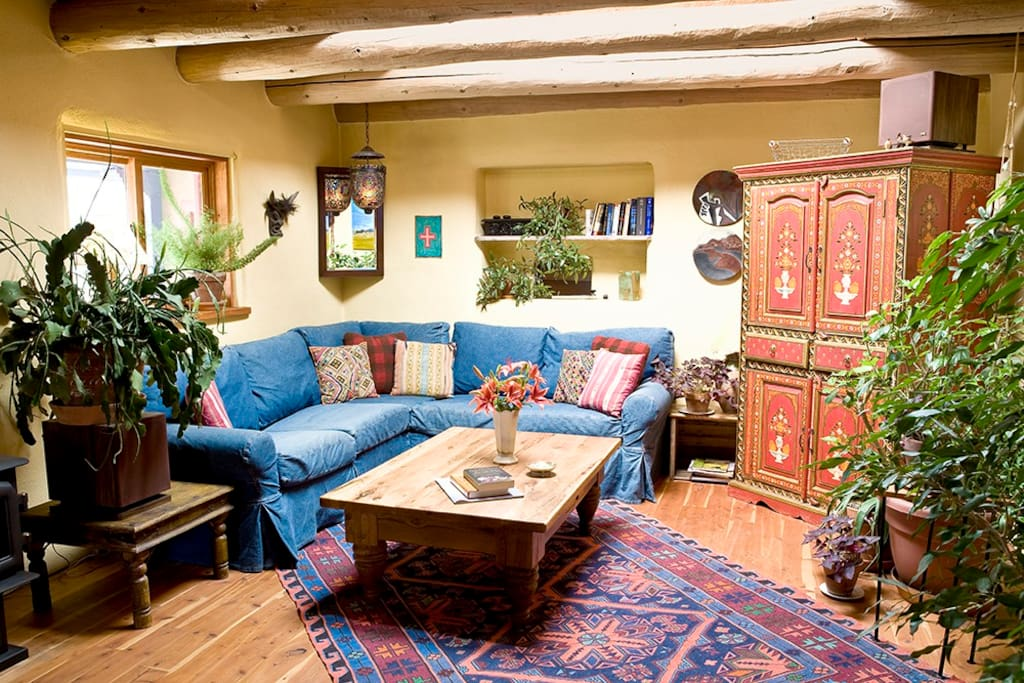 Super spacious and cozy living room