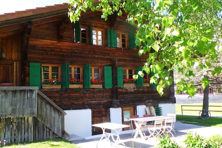 Gstaad region 18th Century Chalet - House