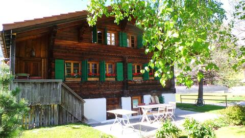18th century chalet near Gstaad