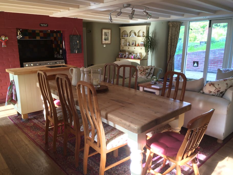 Heart of the House. kitchen, dining, lounge