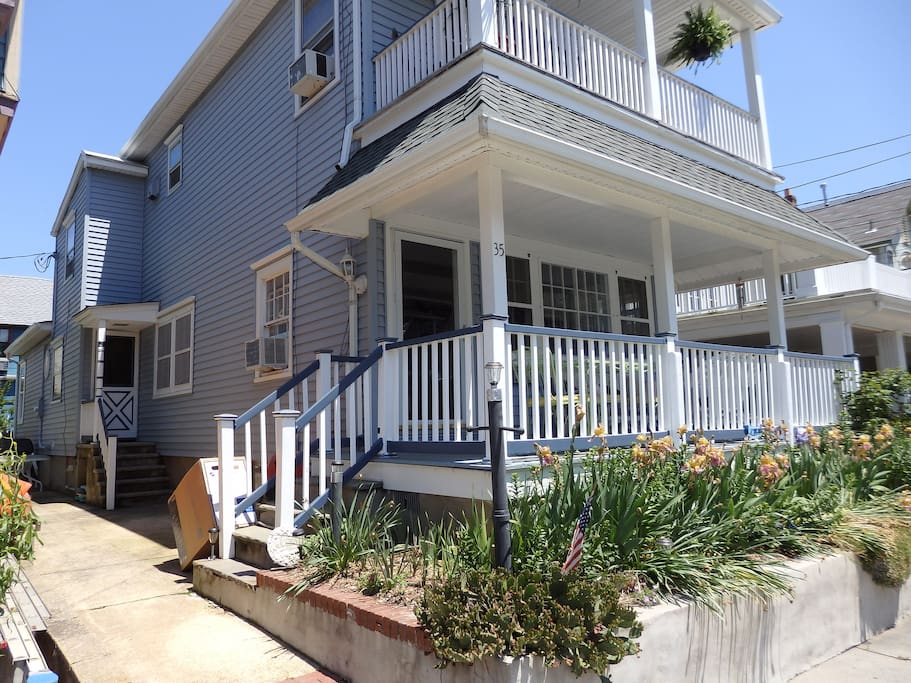 Lovely 2 Bedroom Apartment In House Houses For Rent In Ocean Grove New Jersey United States