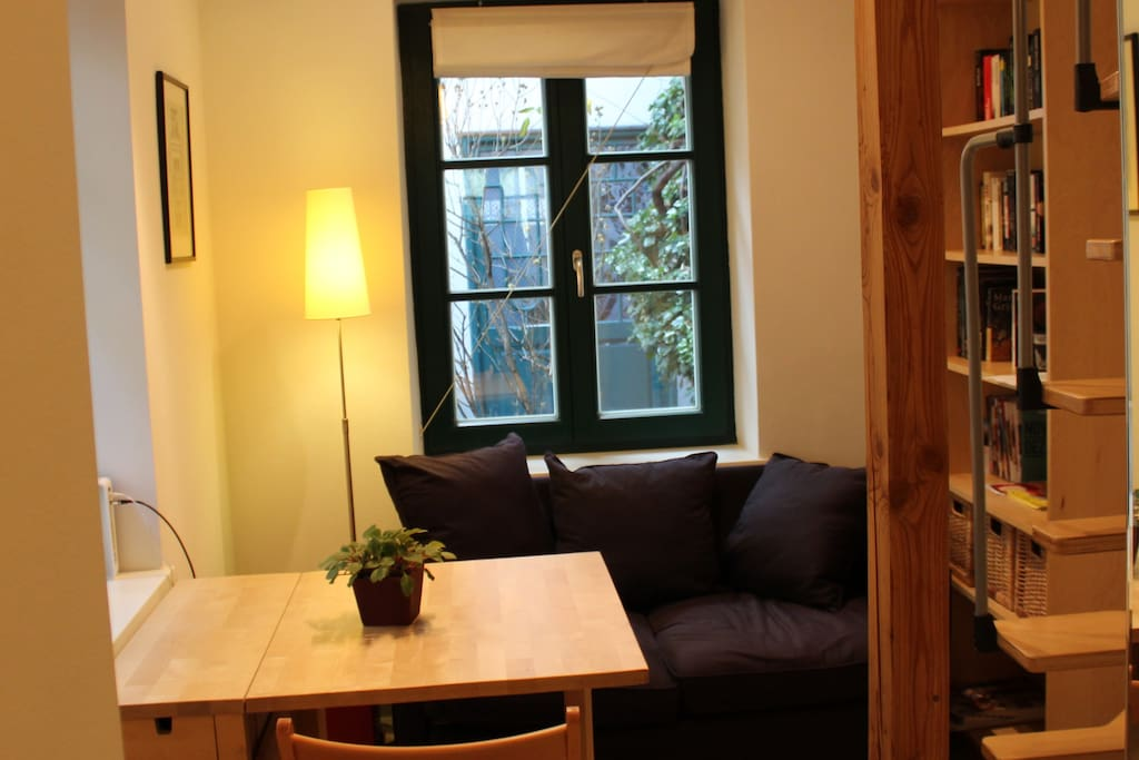 Wohn- und Essbereich im Erdgeschoß
