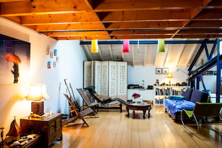 Spacious loft in Louise area - Ixelles