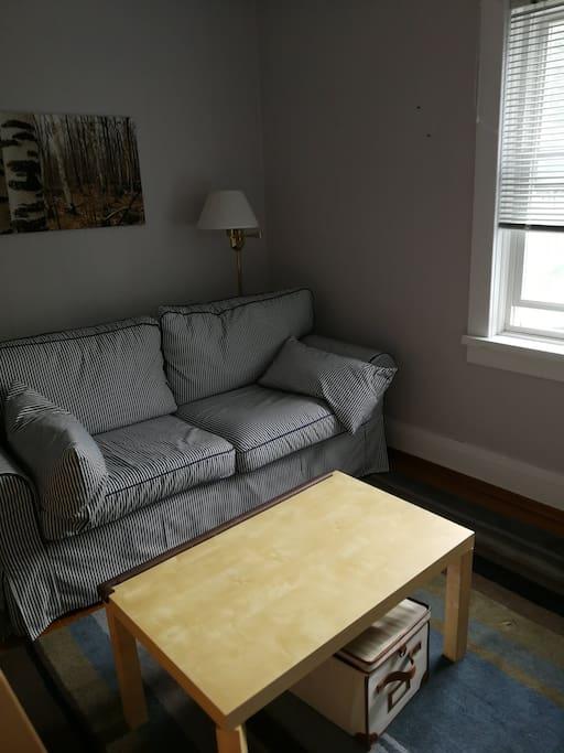 upstairs sitting room/bedroom