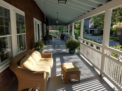 Walk to the beach!  Private entrance.