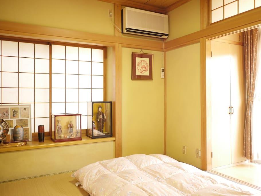 room1和室(1F)  就寝時